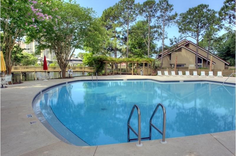 Pool at Beachwalk Villas in Destin Florida