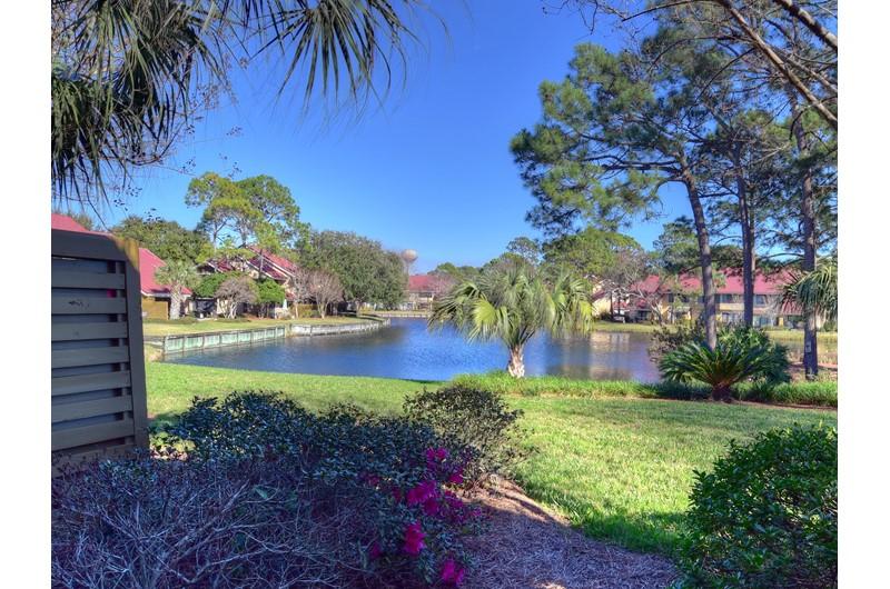 Lovely lake area at Beachwalk Villas @ Sandestin in Destin FL