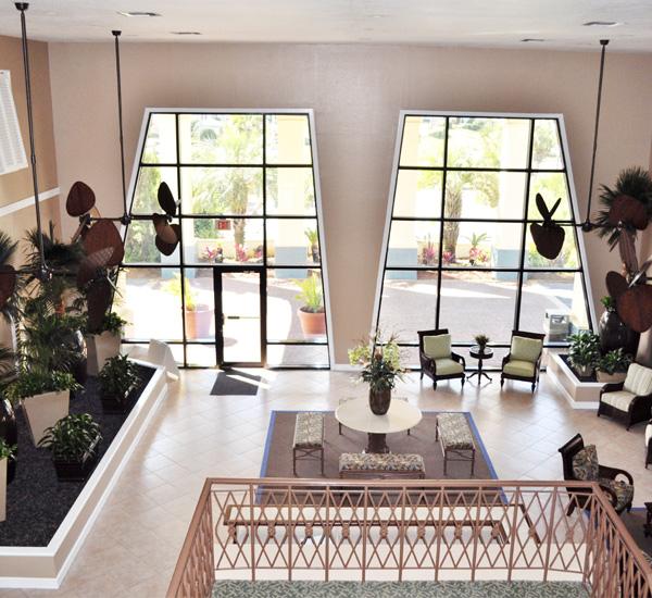 Lobby at Club Destin Resort in Destin Florida