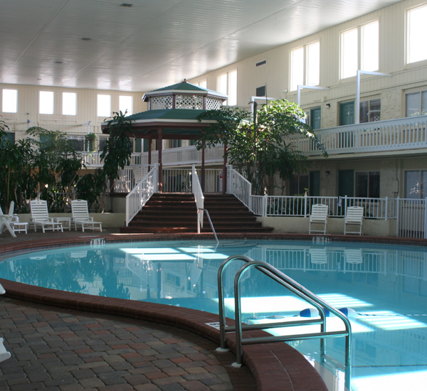Indoor pool at Club Destin Resort in Destin Florida