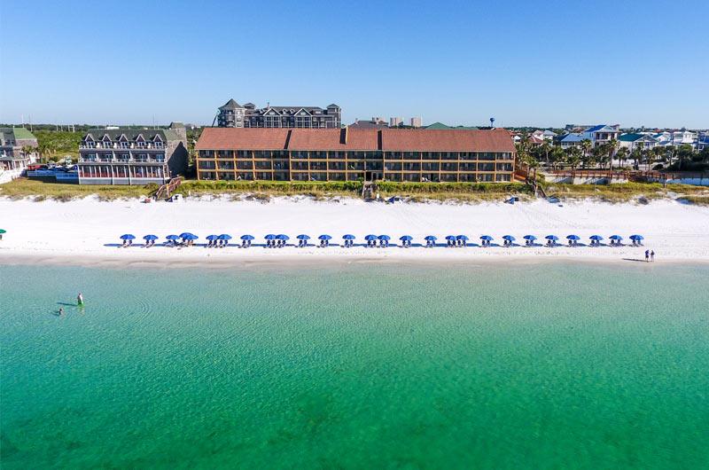 Beachfront Coral Reef Club in Destin FL