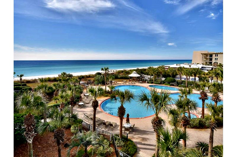 The crescent condos destin family friendly with private - 1 bedroom condos in destin fl on the beach ...