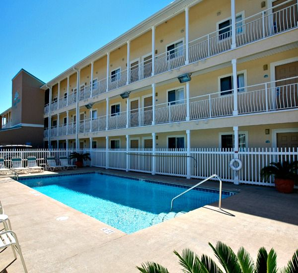 The pool at Crystal Sands East and West Condominiums   in Destin Florida