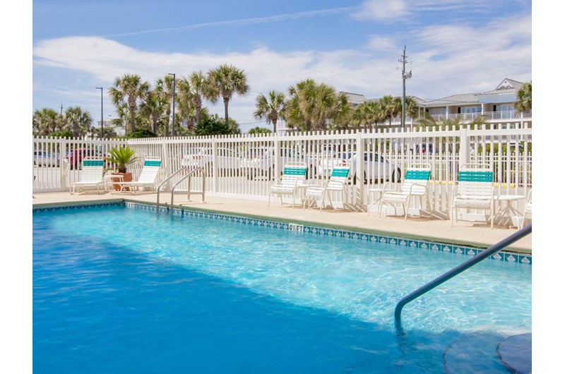 Refreshing pool at Crystal Sands Condominiums in Destin Florida