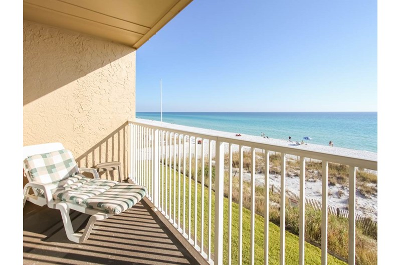 Lovely view of the water from Crystal Villas in Destin Florida