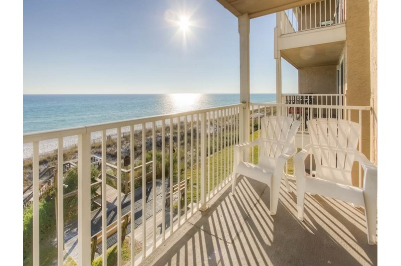 See for miles from Crystal Villas in Destin Florida