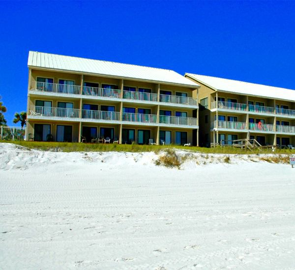 Crystal Villas Condominiums ion the beach in Destin Florida.