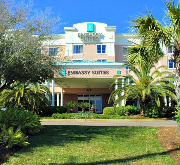 All suites at Embassy Suites Hotel Destin at Miramar Beach in Destin Florida