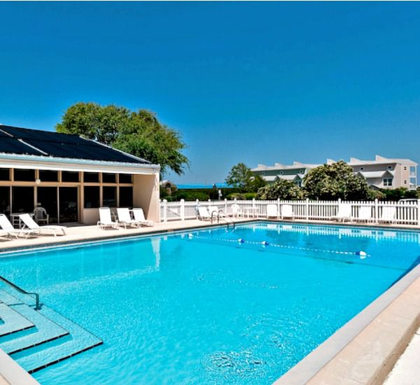 Outdoor pool at Enclave Destin FL
