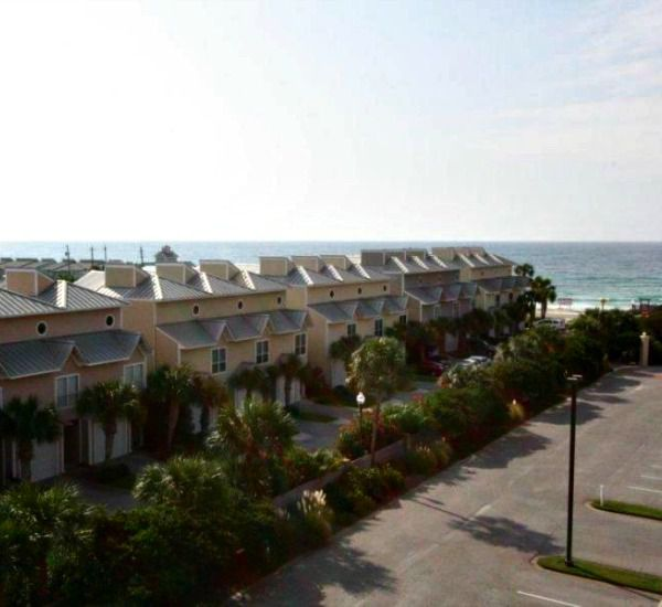 View of the property from the street at Enclave Destin FL