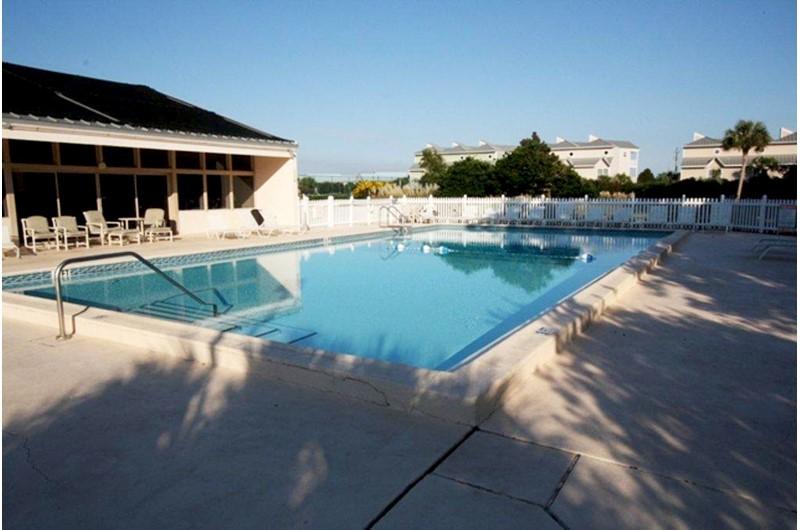 Nice pool area at Enclave in Destin FL