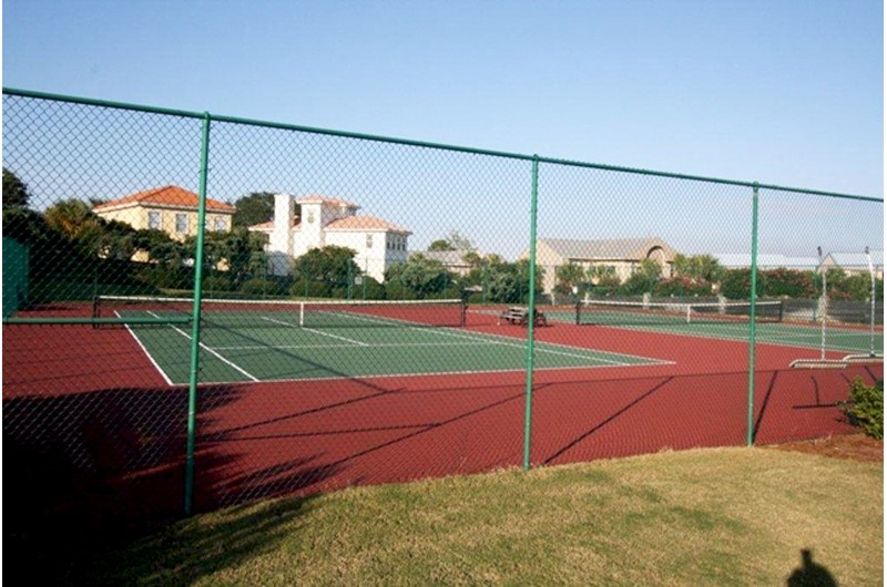 Play a round of tennis at Enclave in Destin FL