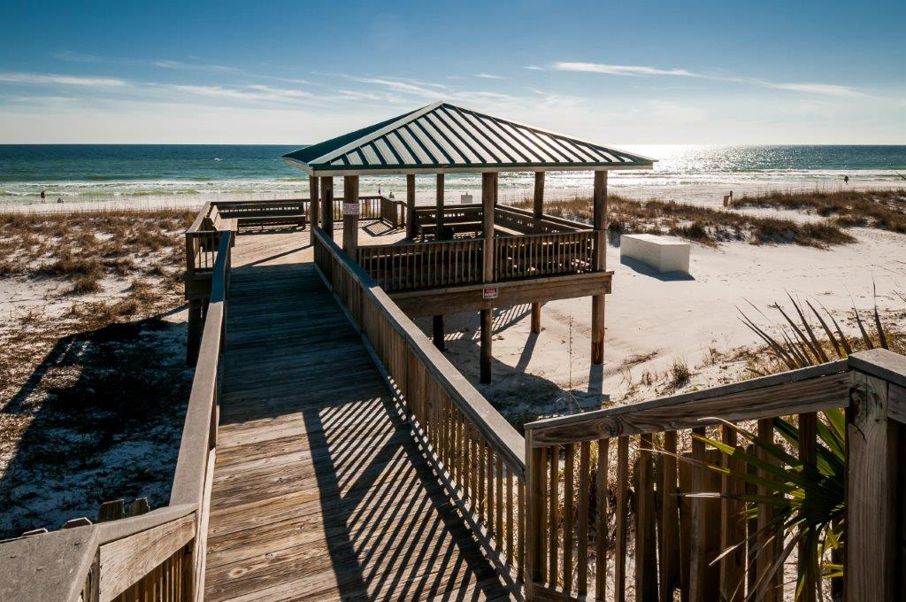 Easy access to the beach from Gulf Winds East Destin FL