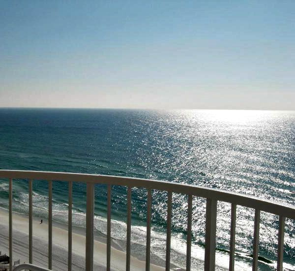 Balcony view from the Hidden Dunes  in Destin Florida