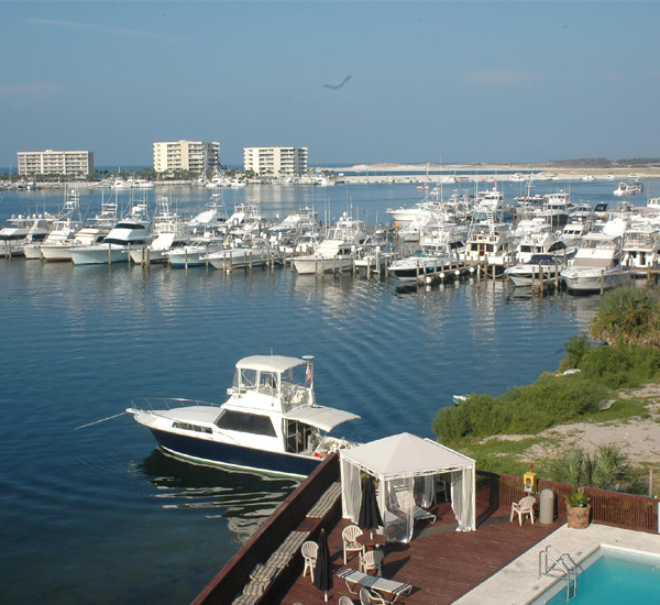Inn on Destin Harbor  in Destin Florida