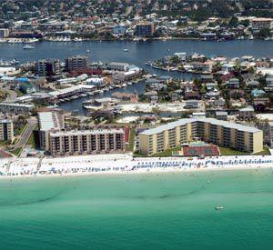Isla Blanca Townhomes in Destin Florida
