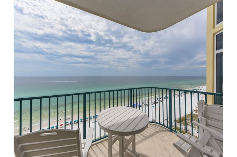 Jade East Towers in Destin Florida is directly Gulf front