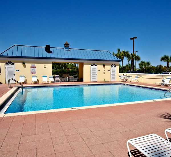 Pool at the Leeward Key Condominiums  in Destin Florida