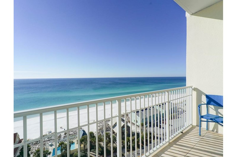 Big view of the Gulf from Leeward Key Condominiums in Destin Florida