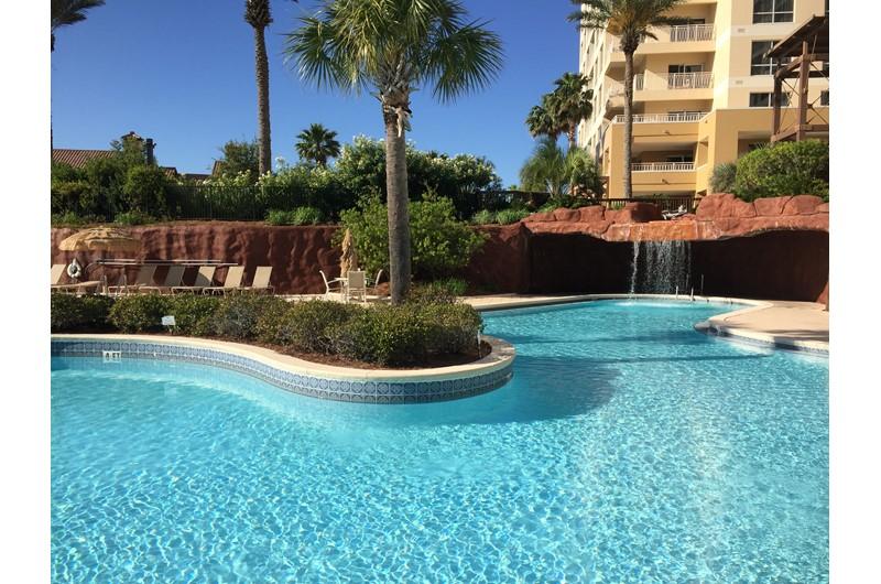 Unbelievable pool at Luau in Destin Florida