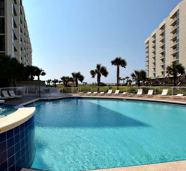 One of two pools at Mainsail Condominiums   in Destin Florida