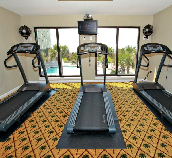 Fitness center at Mainsail Condominiums   in Destin Florida