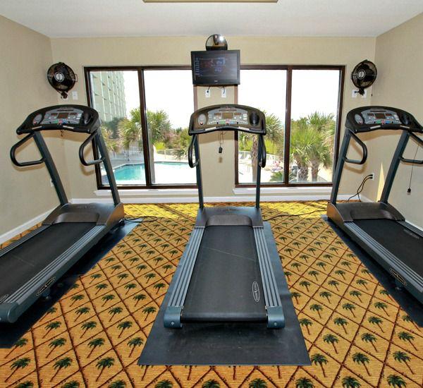 Fitness center at Mainsail Condominiums   in Destin Florida