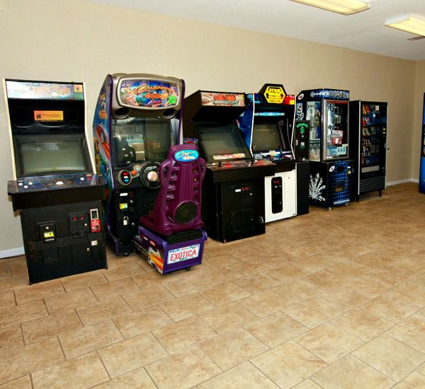 Game room at Mainsail Condominiums   in Destin Florida