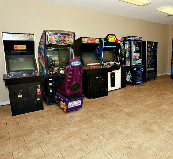 Game room at Mainsail Condominiums   in Destin Florida
