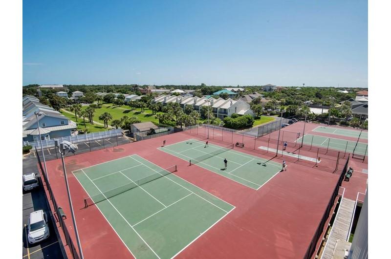 Tennis courts at Mainsail in Destin Florida