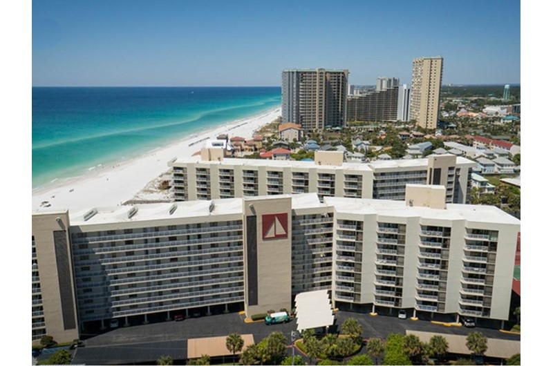 Ariel view of Mainsail in Destin Florida