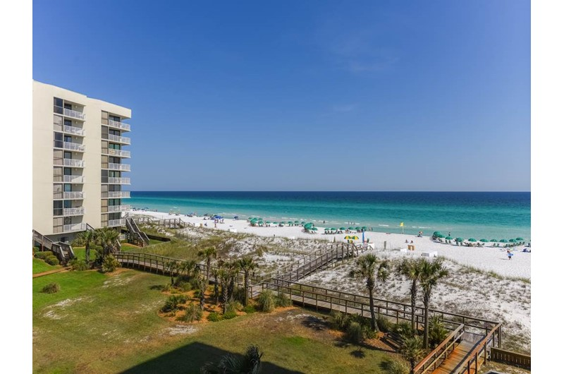 Nice view from Mainsail in Destin Florida