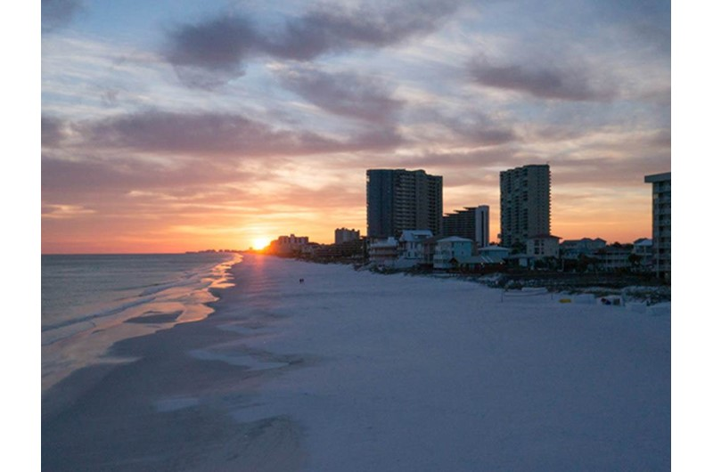The sunsets are incredible from Mainsail in Destin Florida