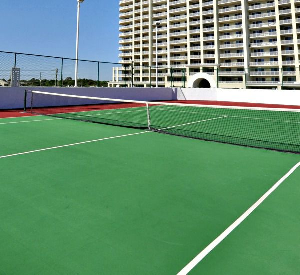 Tennis courts at Majestic Sun Resort Destin