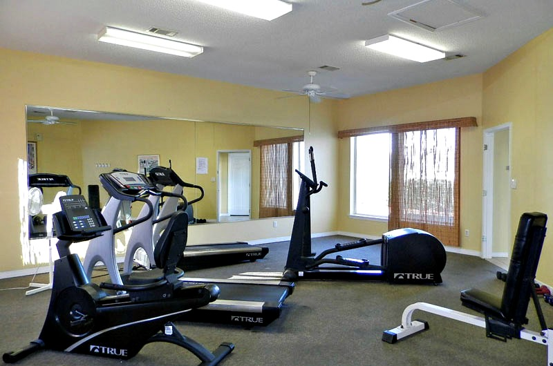 Fitness center at Maravilla in Destin FL