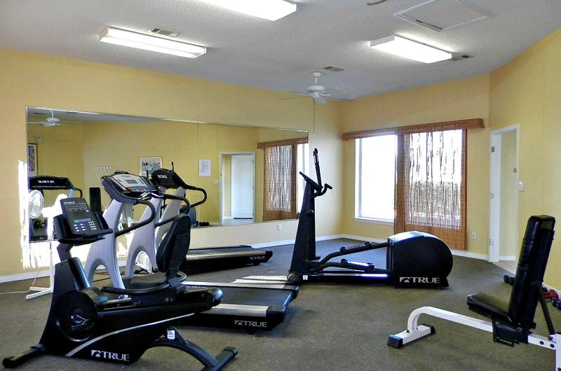 Fitness center at Maravilla in Destin FL