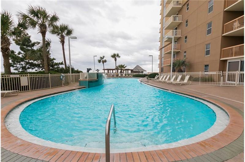 Gorgeous pool area at Pelican Beach Resort in Destin FL