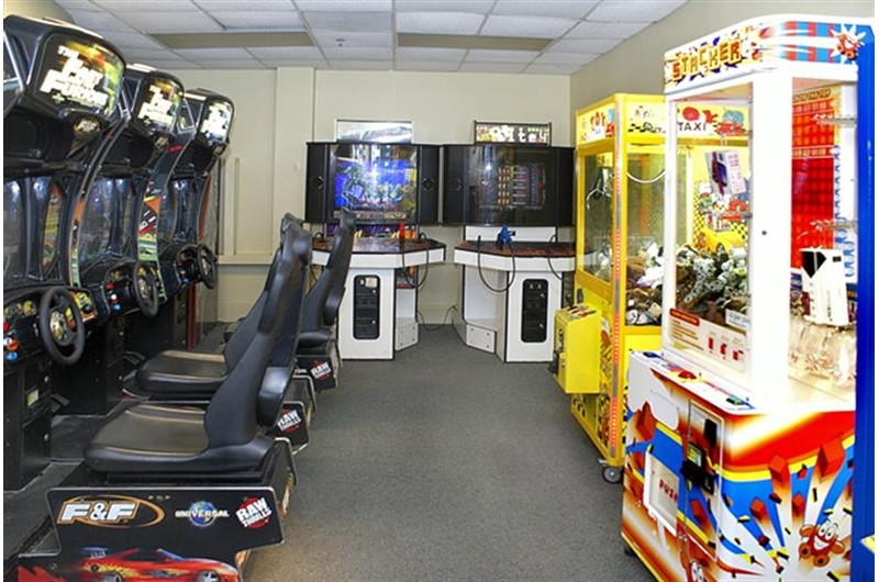 Fun arcade for the kids at Pelican Beach Resort in Destin FL