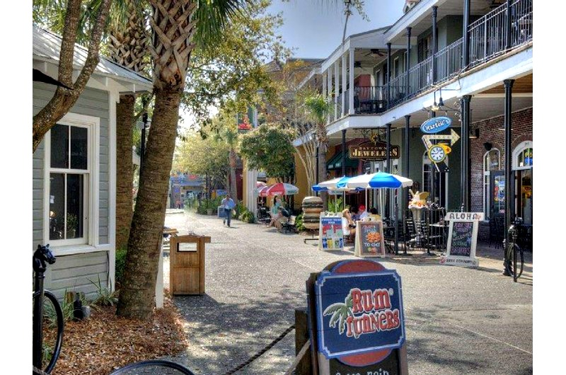 Shops at Baytowne Wharf in Sandestin FL