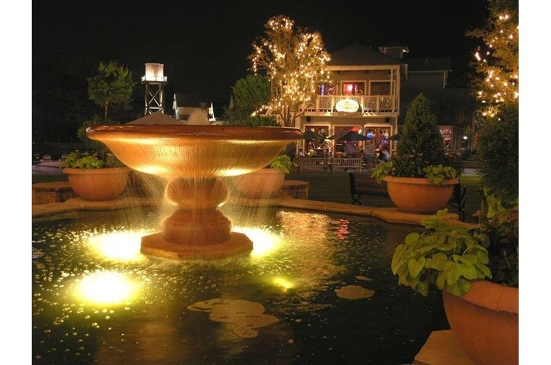 Fountain at Pilot House in Destin FL