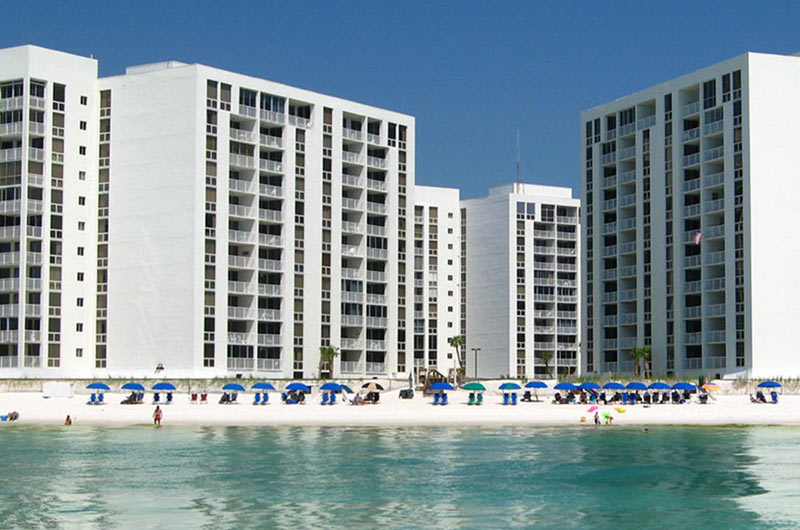 Beachfront Shoreline Towers in Destin FL