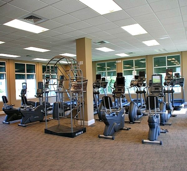 Fitness center at Silver Shells Destin FL