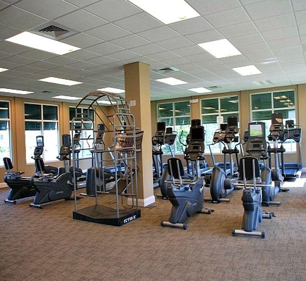 Fitness center at Silver Shells Destin FL