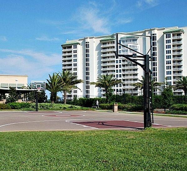 Basketball court at Silver Shells Destin FL
