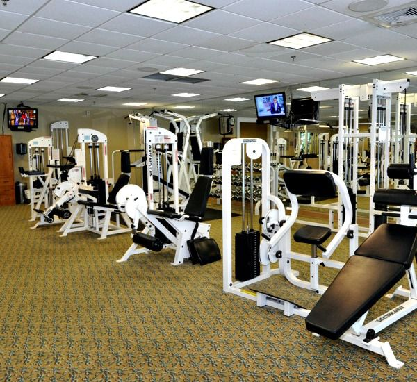 Fitness equipment at Silver Shells Destin FL