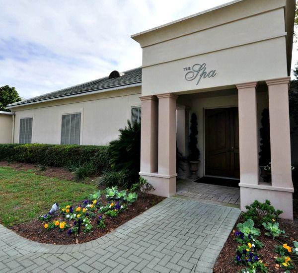 Spa entrance at Silver Shells Destin FL