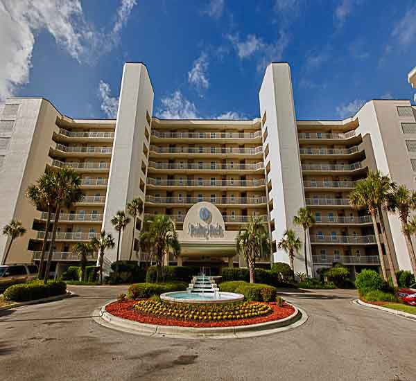 Gulf front condominiums at Sterling Sands Condominiums in Destin Florida