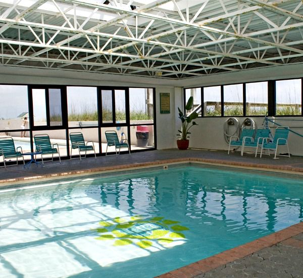 The indoor pool at SunDestin Beach Resort & Hotel   in Destin Florida