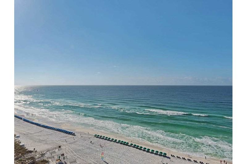 Get a huge view of the Gulf from Sundestin Beach Resort in Destin Florida
