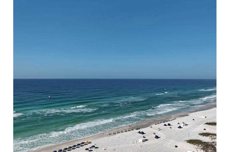 You will have a gorgeous view of the Gulf from Sundestin Beach Resort in Destin Florida